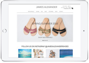 Shoes Ecommerce website, Cronulla
