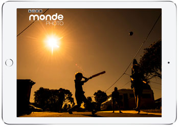 Photograher website design, Monde Photo, Cronulla