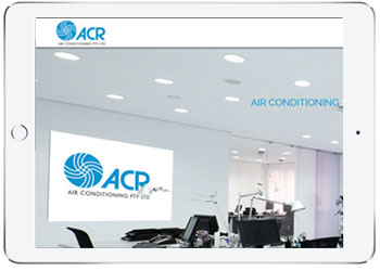 Air Conditionning website for ACR Air, Taren Point, Sydney