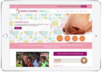 Booking system website design for Julie Clarke