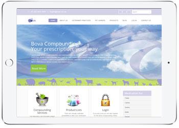 Custom ecommerce website for Bova, Caringbah