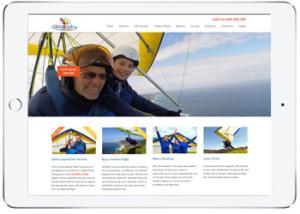 Woocmmerce wordpress ecommerce website for Sydney Hang Gliding