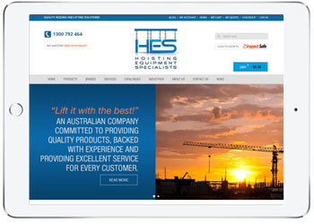 Multi Store Ecommerce web design for HES, Taren Point