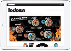 Shopify ecommerce design for Lodown, Cronulla