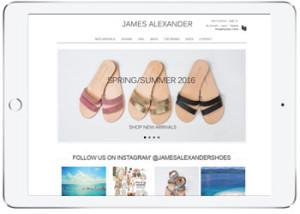 Shoes Ecommerce website, Cronulla
