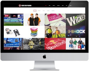 Wordpress website design for 1800FORPROMO, Miranda