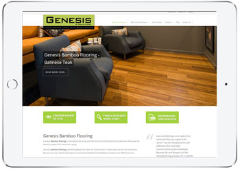Flooring website For Genesis Bamboo, Kurnell, Sydney