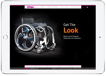 Ecommerce web design Woocommerce for Mogo Wheelchair, Sydney
