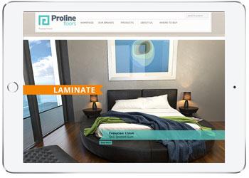 Web Design with Wordpress, Proline Floors, Kurnell