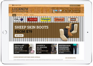 Clothing Shopping cart, ecommerce for Luck Now Skin Shop, Orange