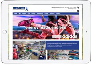 Ecommerce web design for Runnulla, Cronulla